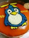 เค้กนกเพนกวิน (Penguin Cake)