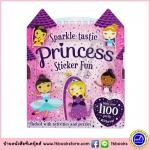 Sparkle-tastic Princess Sticker Fun Book for Girls หนังสือกิจกรรม เกม พร้อมสติกเกอร์ สำหรับเด็กหญิง