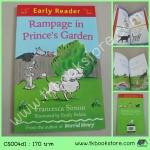 Orion Early Reader : Rampage in Prince's Garden หนังสือฝึกการอ่าน : ความวุ่นวายในสวนของเจ้าชาย