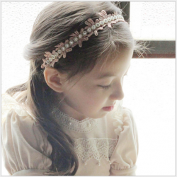HB100••ที่คาดผมเด็ก,ผู้ใหญ่•• (สีชมพู)