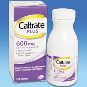 Caltrate Calcium plus 120 เม็ด