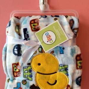 BK082••ผ้าห่มเด็ก•• / ลายเป็ด (นาโน)