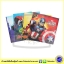Marvel 4 Super Story Books Bag Set มาร์เวล ซุปเปอร์ฮีโร่ Avengers Iron Man Spiderman Captain America thumbnail 2