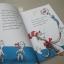 The CAT in the HAT by Dr. Seuss หนังสือนิทาน ดร.ซูสส์ ปกอ่อนเล่มโต thumbnail 4
