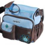 กระเป๋าสะพายคุณแม่ - สีฟ้าหม่น