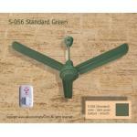 """พัดลม เพดาน ซากุระ 56"""" สีเขียว Classic Green"""