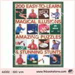 200 Easy to Learn Magical Illusions : หนังสือรวมทริกมายากลและเกม 200 กิจกรรม