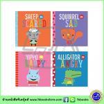 Playdate Pals : 4 Books Collection : Feeling Scared, Angry, Sad, Happy หนังสือสอนเด็กวัยหัดเดินเกี่ยวกับอารมณ์ ความรู้สึก