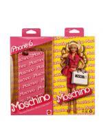 "MOSCHINO BARBIE SERIES IPHONE6 CASE หน้ากากไอโฟน6 เคสไอโฟน6 Moschino สีชมพู 4.7"" พร้อมส่ง"