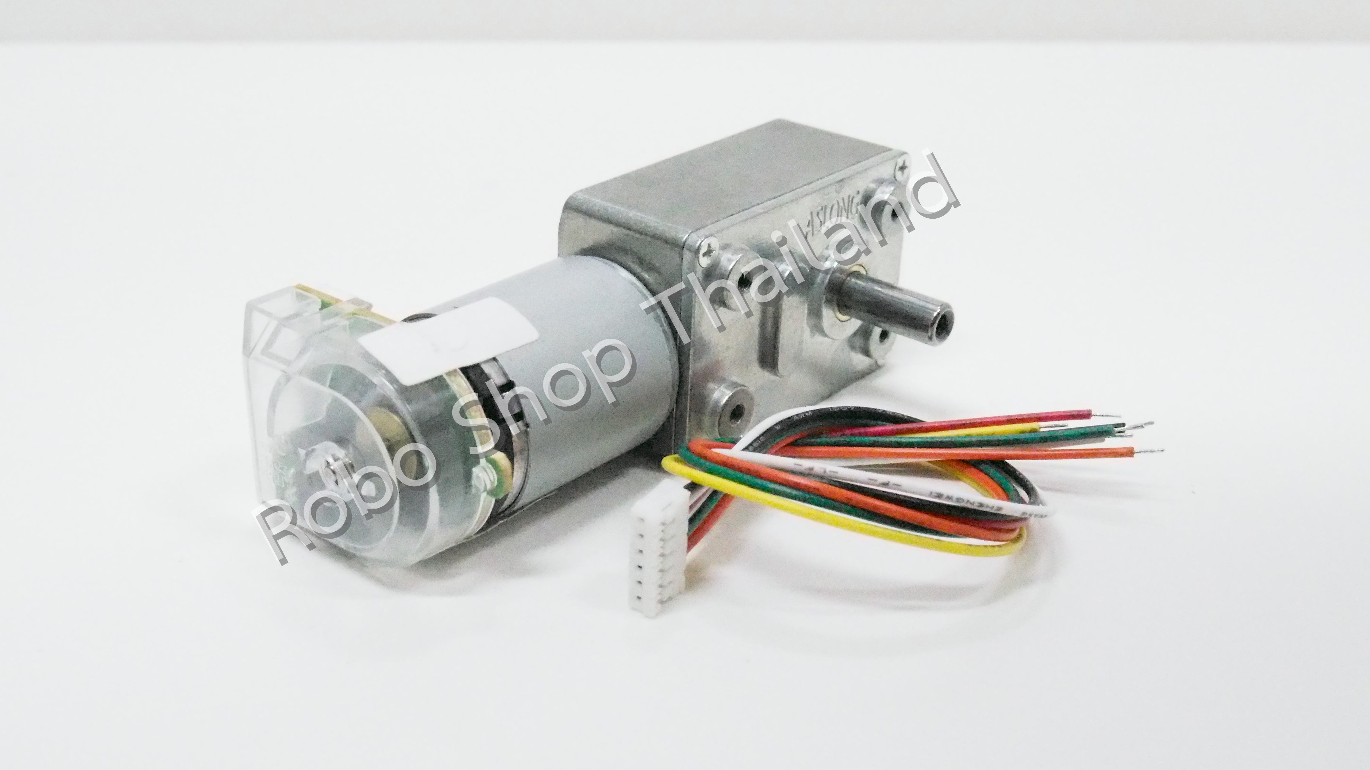 มอเตอร์ Encoder แกนข้าง 115 RPM