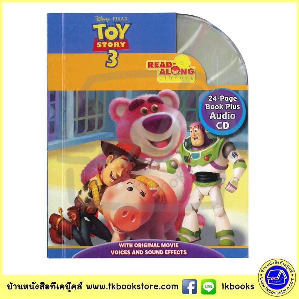 Disney Pixar CD Read Along Library : TOY Story 3 หนังสือเสริมทักษะการอ่านพร้อมซีดี : ทอยสตอรี่ 3