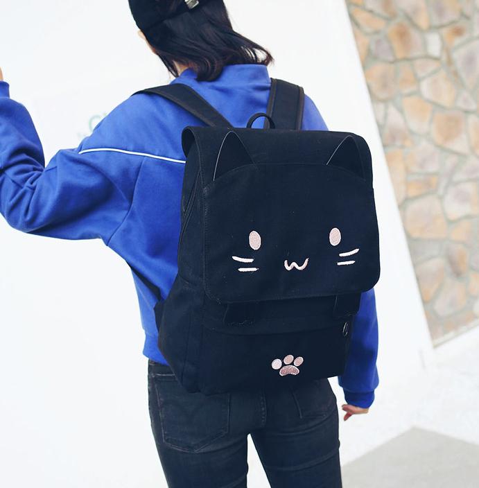 กระเป๋าเป้ แมวเหมียว