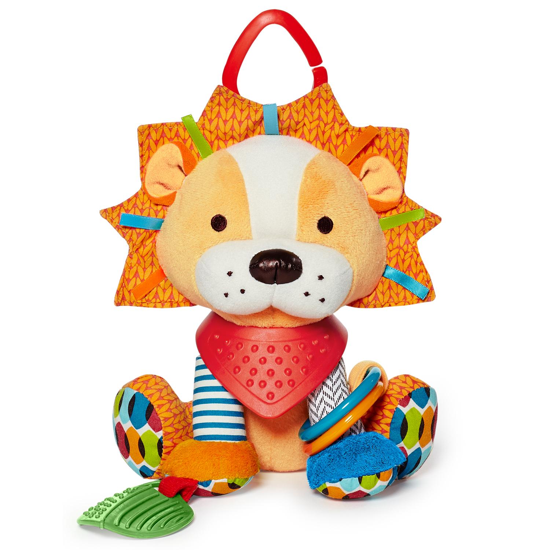 ตุ๊กตาโมบายผ้าเสริมพัฒนาการ รูปสิงโต SKK Baby รุ่น BANDANA BUDDIES activity toy - Lion