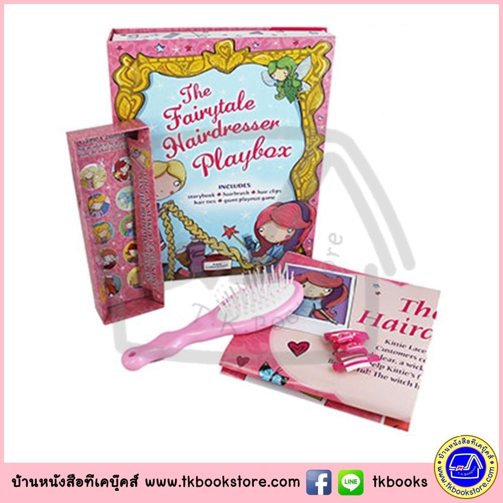 The Fairytale Hairdresser Playbox นิทานภาพ และเซตเล่นแต่งผมนางฟ้า สำหรับสาวน้อย หนังสือ หวีแปรง กิ๊บแต่งผม