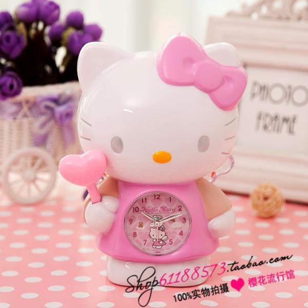 นาฬิกาปลุก Hello Kitty นางฟ้าถือคฑา < พร้อมส่ง >