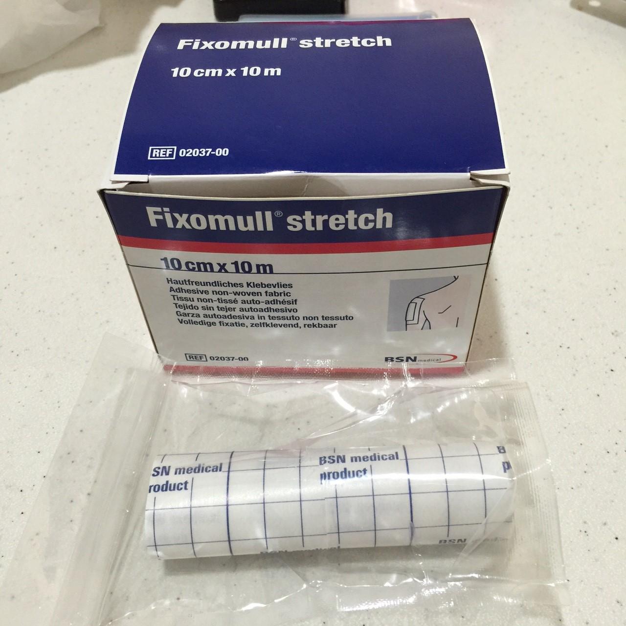 Fixomull Stretch เทปกาวปิดแผล 10*100 cm.