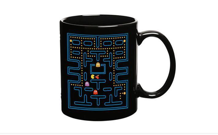 แก้วน้ำ Pac-Man เปลี่ยนภาพตามอุณหภูมิ <พร้อมส่ง>
