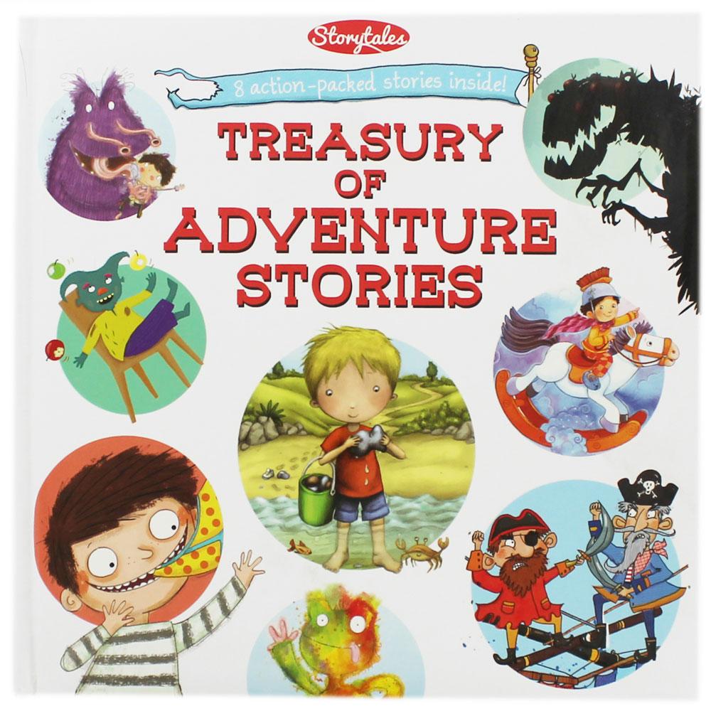 Treasury Of Adventure Stories : รวมนิทานผจญภัยยอดฮิต 8 เรื่อง Monster Pirate Prince