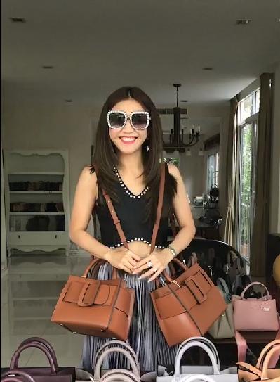 Belt Bag Genuine Leather 26 cm Bag (หนังวัวแท้) มี 6 สีให้เลือกค่ะ