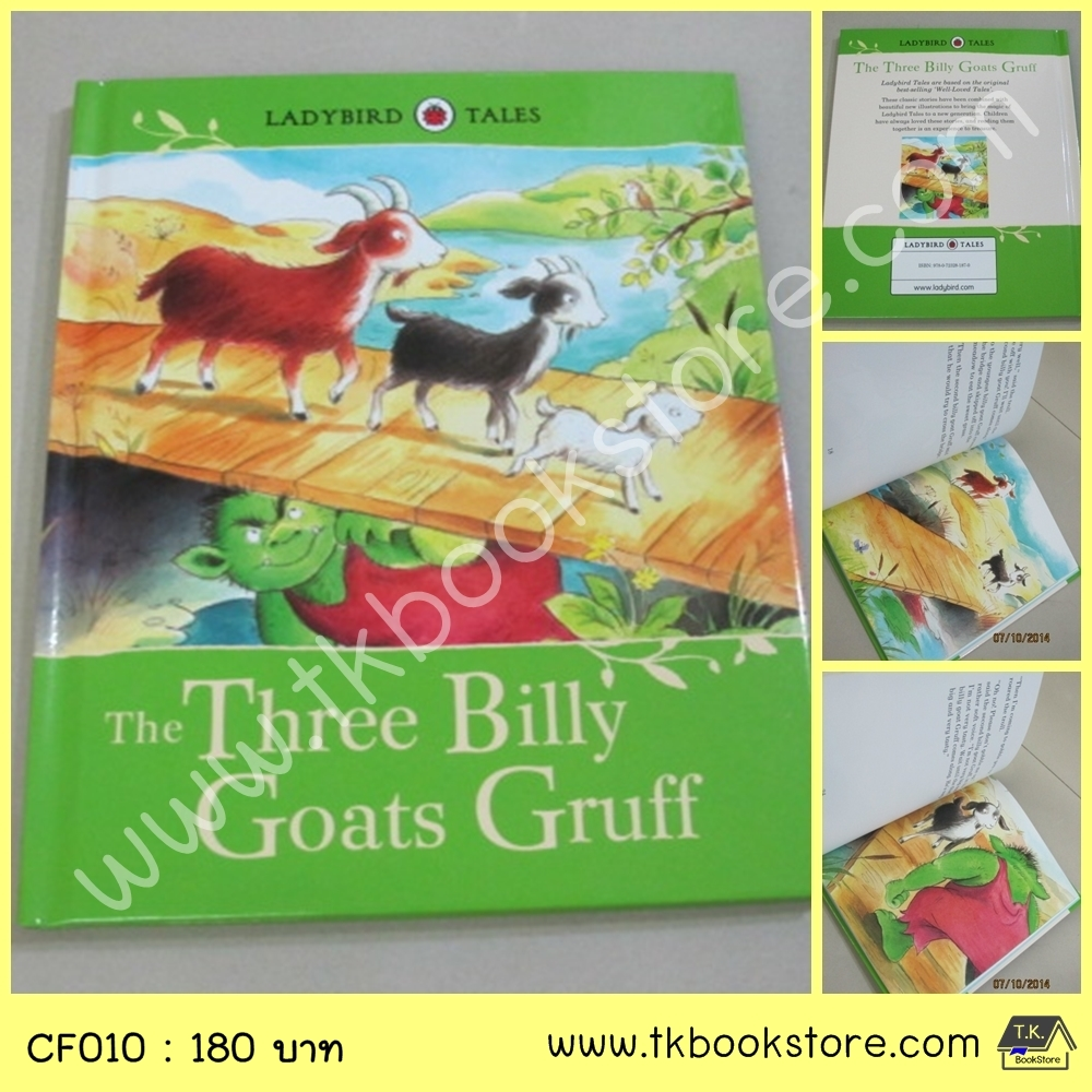 Ladybird Classic Tales : The Three Billy Goats Gruff นิทานเลดี้เบิร์ด แพะสามตัว