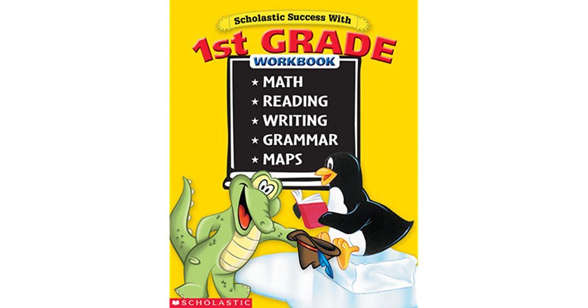 Scholastic Success with 1st Grade Workbook : แบบฝึกหัดสำหรับเด็กเกรด 1