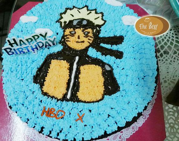 เค้กนารูโตะ (Naruto Cake)