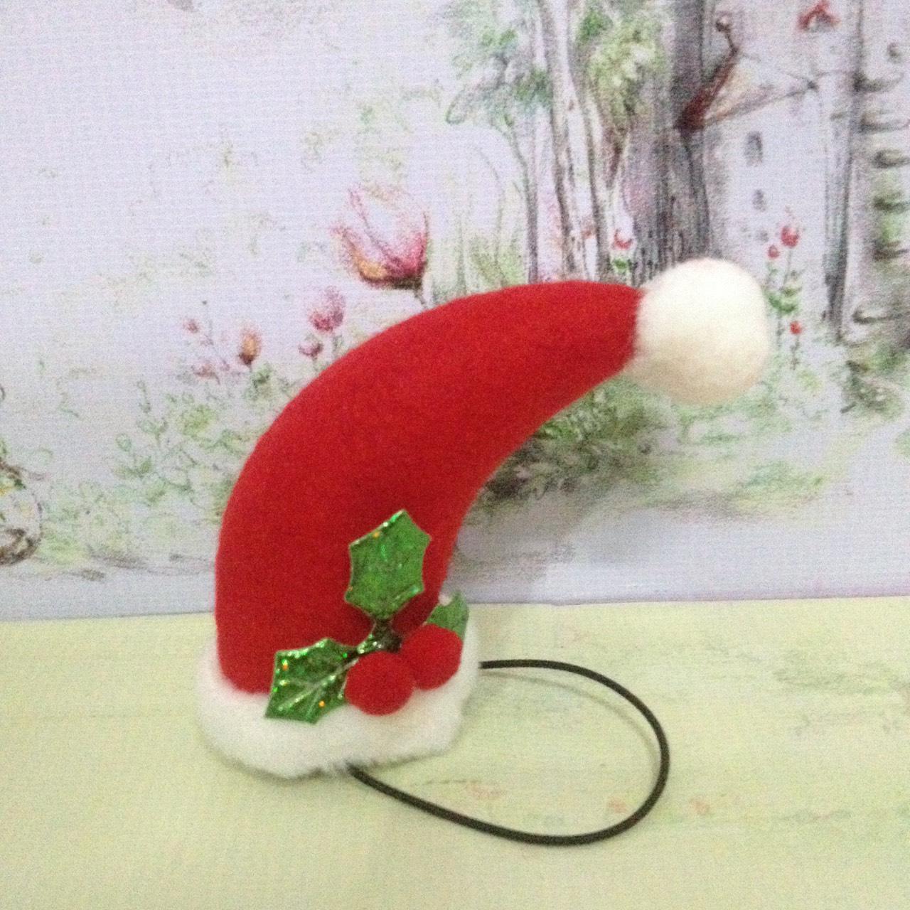 หมวกซานต้ากรวยโค้ง M