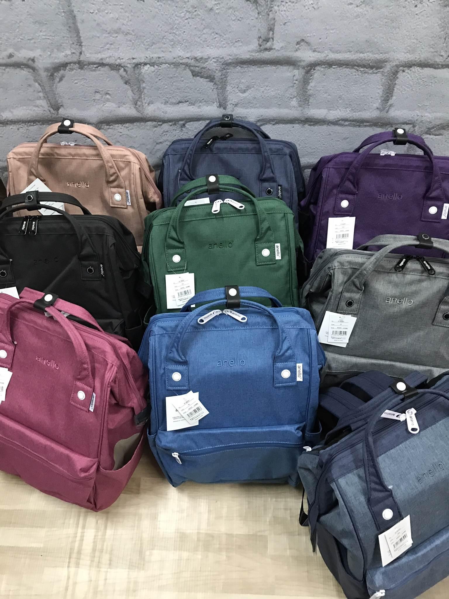 Anello Mottled Polyester Backpack ขนาดปกติ (Regular) 2017