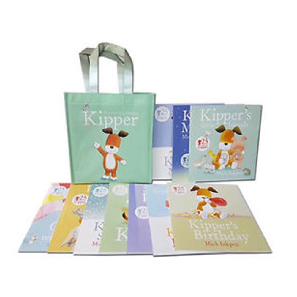 Kipper Storybook Collection : Mike Inkpen 25th years of Kipper 10 Boos เซตหนังสือคิปเปอร์ ไมค์ อิงค์เพน