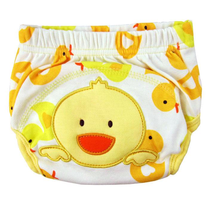 กางเกงผ้าอ้อมซับฉี่เด็ก Training Pant ลายเป็ด size 80 90 100