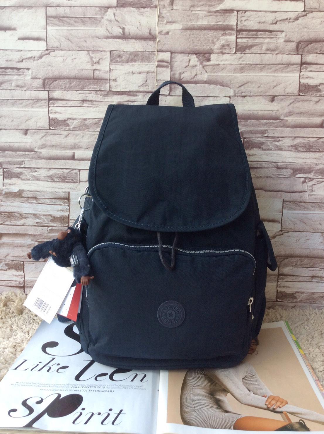 กระเป๋าเป้ KIPLING K 12147 CITY PACK B OUTLET HONG KONG สีดำ