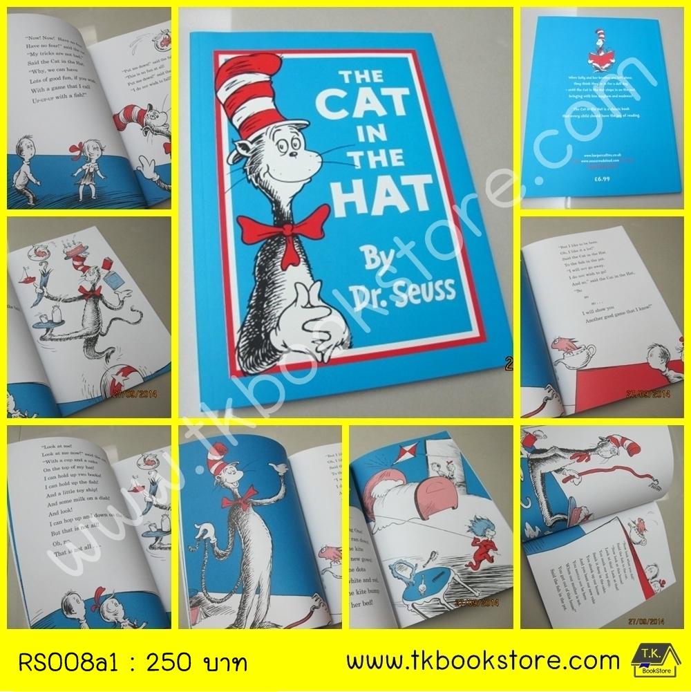 The CAT in the HAT by Dr. Seuss หนังสือนิทาน ดร.ซูสส์ ปกอ่อนเล่มโต