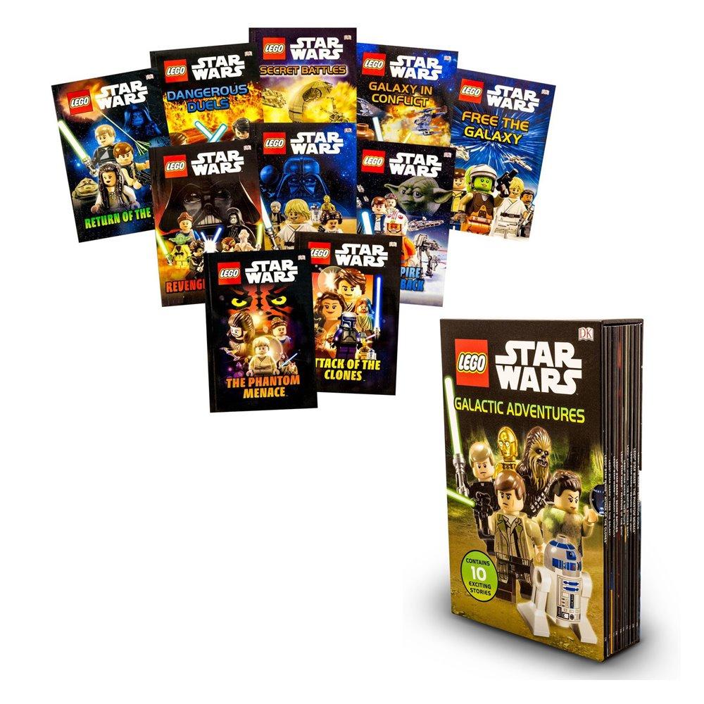 DK Readers Collection : DK LEGO STAR WARS & Disney : Galactic Adventures 10 Exciting Books in a slip case เซตหนังสืออ่านซีรีย์ สตาร์ วอร์ 10 เล่ม