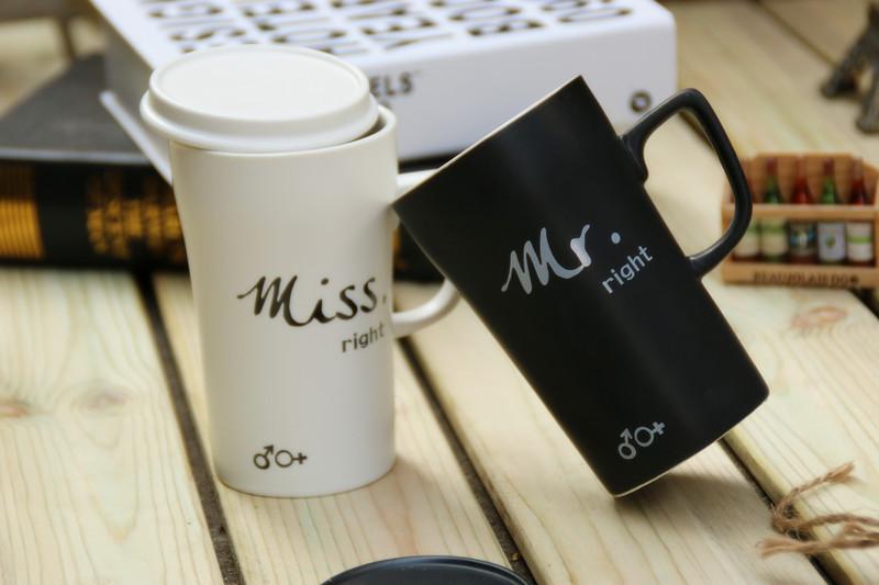 แก้วคู่ Mr & Mrs ยกคู่ <พร้อมส่ง>