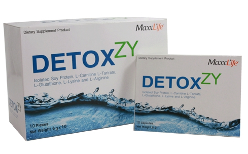 MaxxLife Detoxzy 10 เม็ด