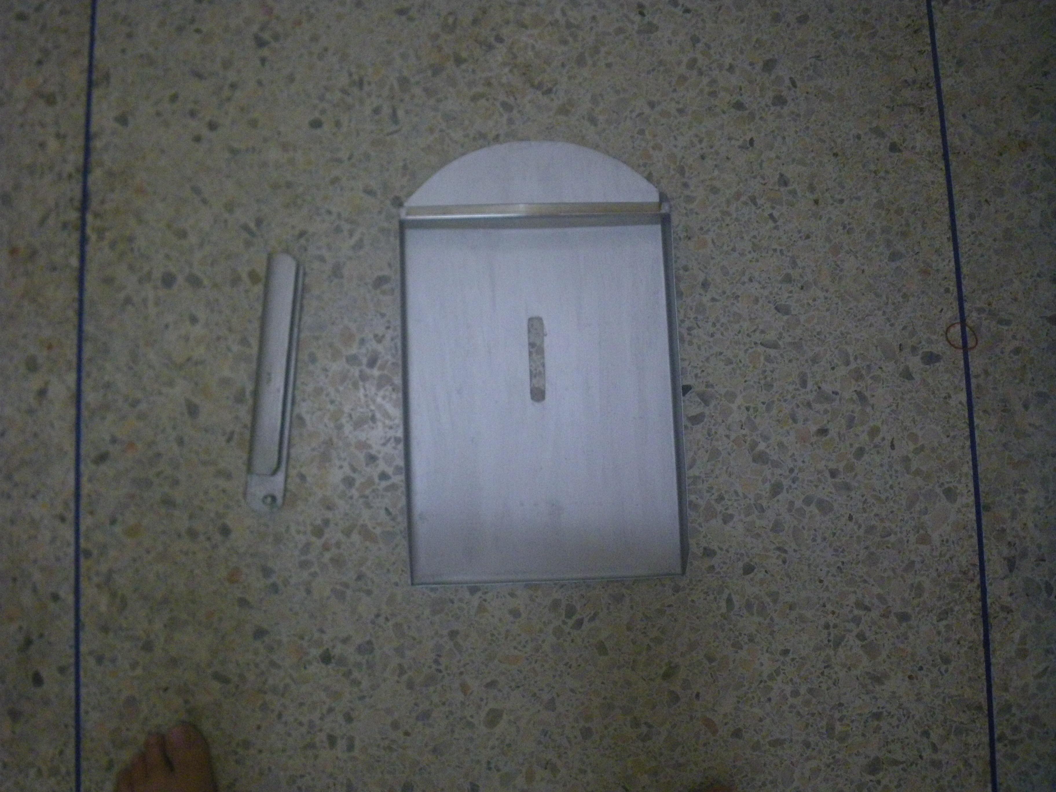 ชุดอุปกรณ์ป้องกันขโมย โจรงัดประตูหน้าบ้าน (อุปกรณ์ล็อคประตูบังตา+ อุปกรณ์แผ่นบังกุญแจประตูเหล็กหน้าบ้าน)