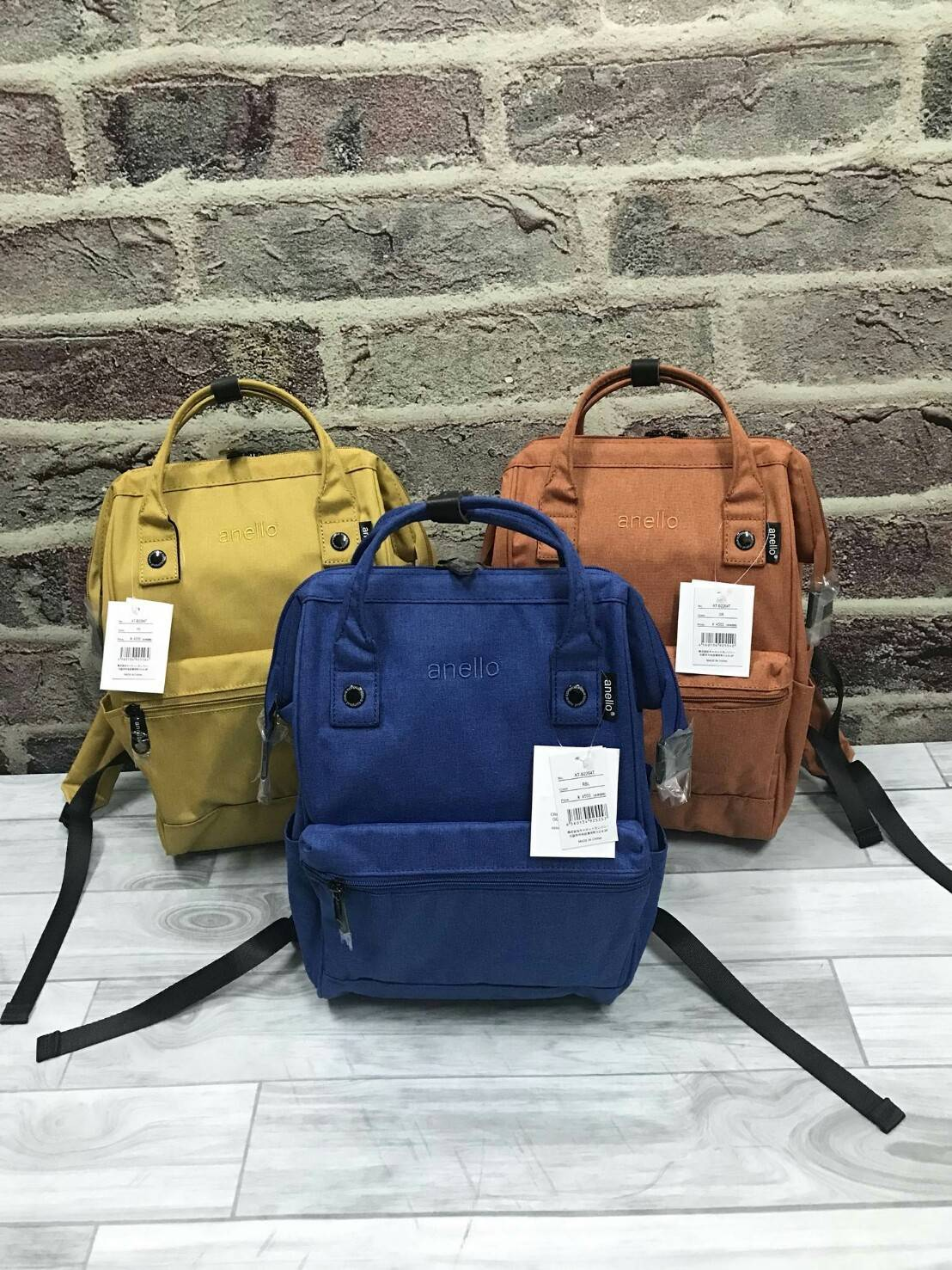 Anello Mottled Polyester Backpack ขนาด Mini New Color 3 สี