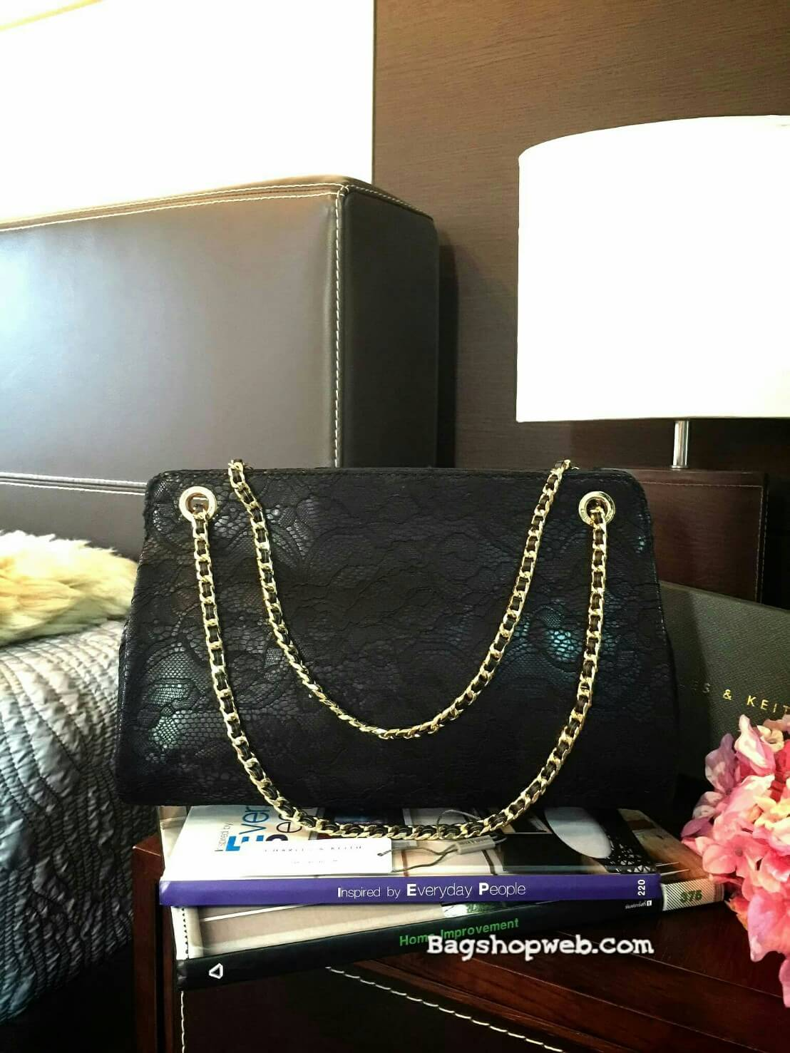 กระเป๋า CHARLE & KEITH CHAIN STRAP SHOULDER BAG 2016 กระเป๋าสะพายรุ่นใหม่ล่าสุดแบบชนช็อป!