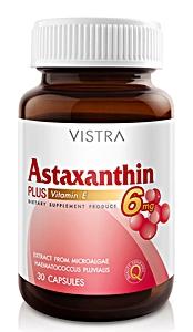 VISTRA Astaxanthin Plus Vitiamin E 6 mg 30 tab