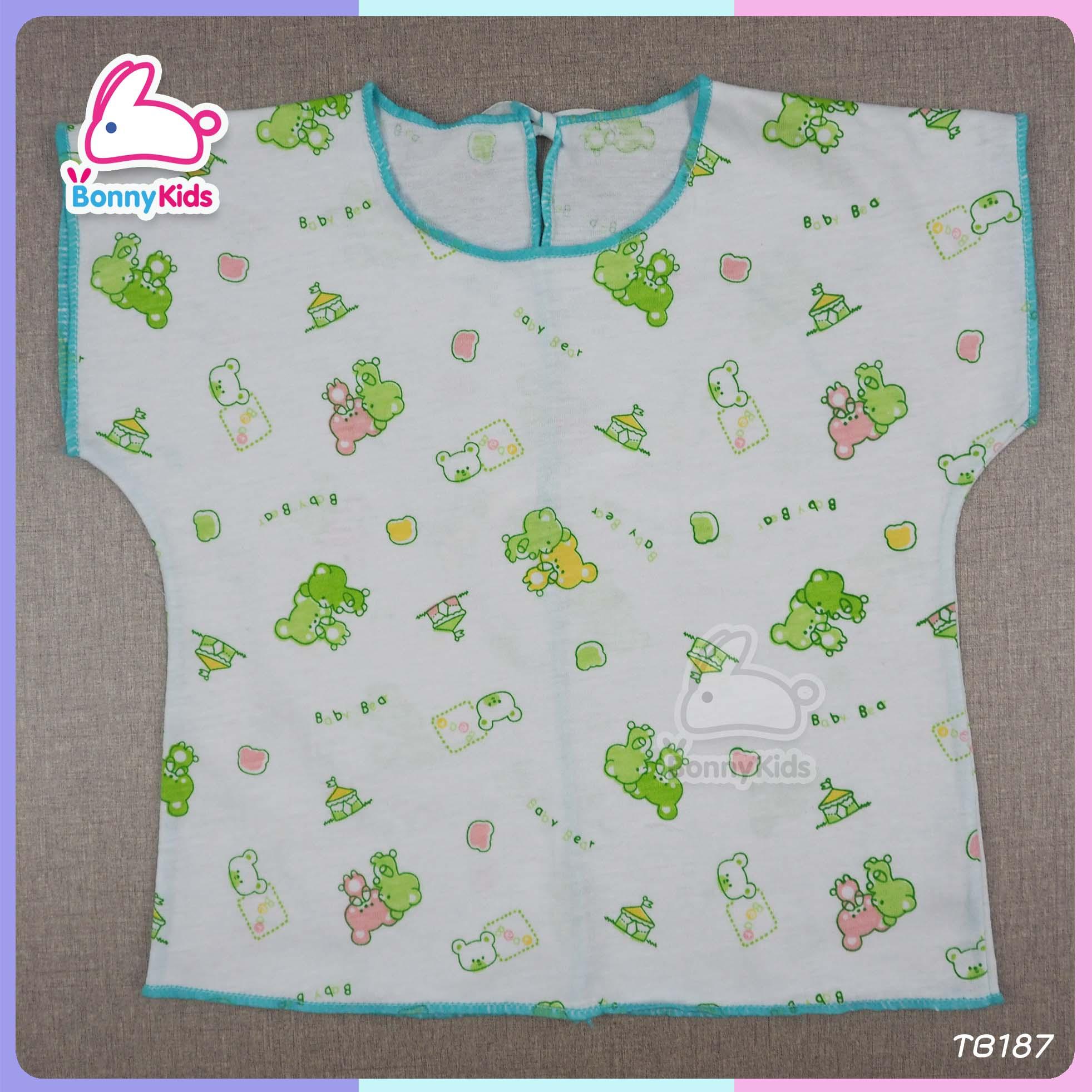 เสื้อผูกหลังเด็กแรกเกิด (แพ็ค 12 ตัว)