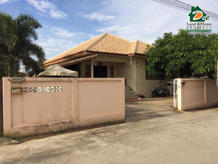 บ้านเดี่ยว 1 ชั้น 93 ตรว. หมู่บ้านมณฑา5 บ้านกุ่ม เมืองเพชรบุรี
