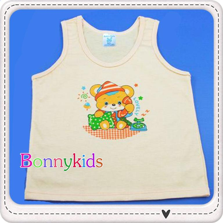 เสื้อกล้ามเด็ก size 0-3 m (แพ็ค 6 ตัว)