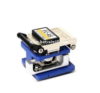 Optical Fiber Cleaver ( อุปกรณ์ตัดสายไฟเบอร์ก่อน splice หรือ เข้าหัว SC/FC )