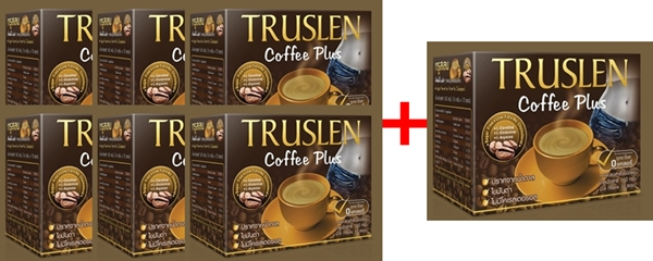 Truslen Coffee Plus 6 +1 (16gx10ซอง+2ซอง)