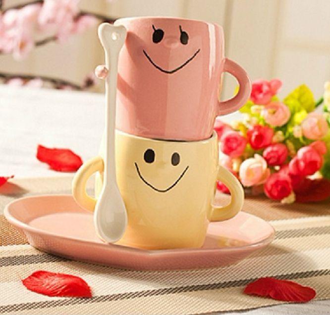 แก้วคู่รัก Pair mug set <พร้อมส่ง>