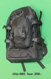 กระเป๋าเป้ รุ่นผ้า 300D