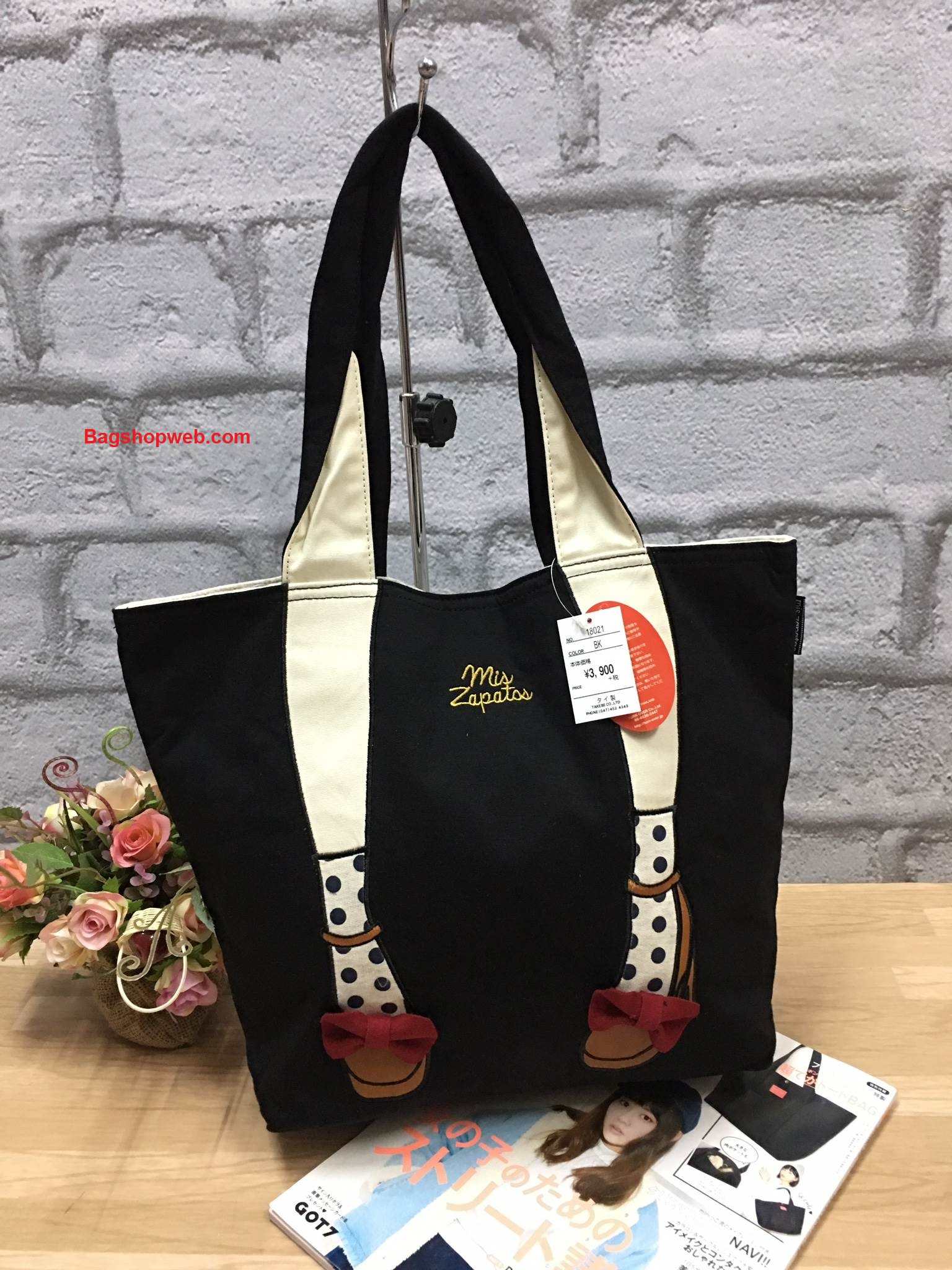 กระเป๋า Mis Zapatos turnovers sweet material shopping bag F ราคา 1,090 บาท Free Ems