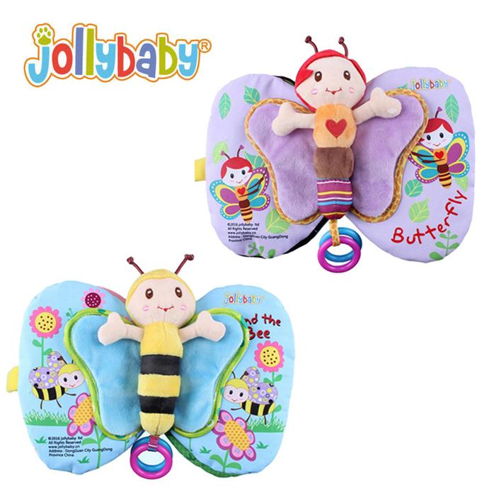 หนังสือผ้า ผึ้ง-ผีเสื้อน้อยแสนสวย Jollybaby