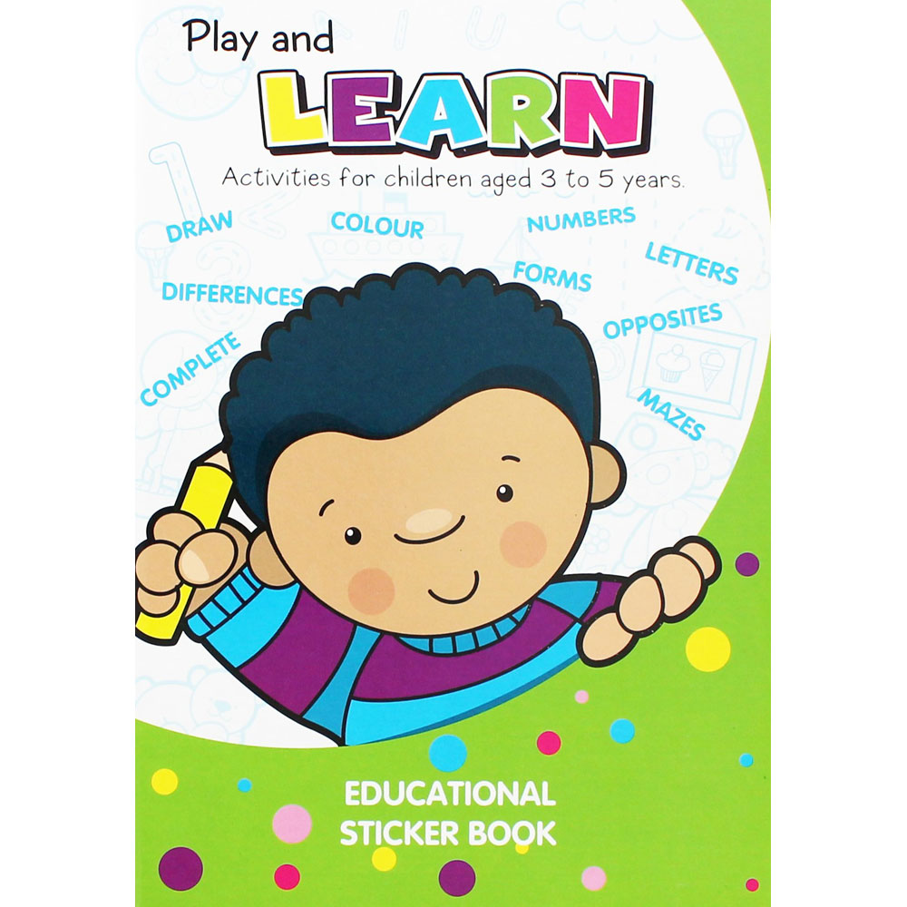 Play And Learn Activity Book