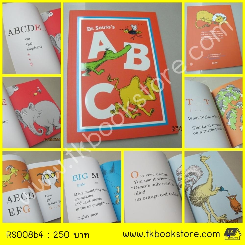 Dr. Seuss's A B C หนังสือนิทาน ดร.ซูสส์ ปกอ่อนเล่มโต